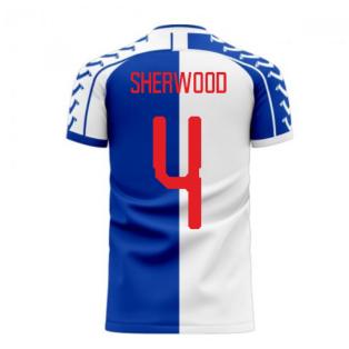 Blackburn 2020-2021 Home Concept Football Kit (Viper) (Sherwood 4)