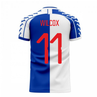 Blackburn 2020-2021 Home Concept Football Kit (Viper) (Wilcox 11)