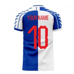 Blackburn 2020-2021 Home Concept Football Kit (Viper) (Your Name)