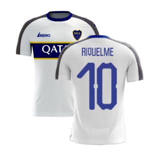 Boca Juniors 2020-2021 Away Concept Football Kit (Libero) (RIQUELME 10)