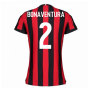2017-2018 AC Milan Womens Home Shirt (Bonaventura 2)