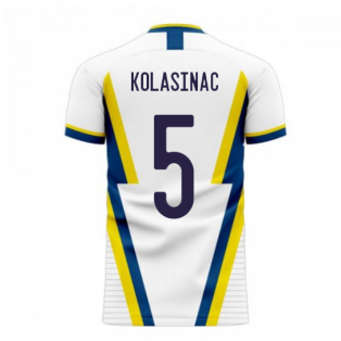 Bosnia 2020-2021 Away Concept Football Kit (Libero) (KOLASINAC 5)