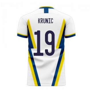 Bosnia 2020-2021 Away Concept Football Kit (Libero) (KRUNIC 19)