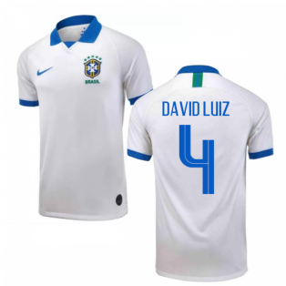 Brazil 1919 Anniversary Shirt (Kids) (David Luiz 4)