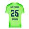 2020-2021 VFL Wolfsburg Home Nike Football Shirt (BROOKS 25)