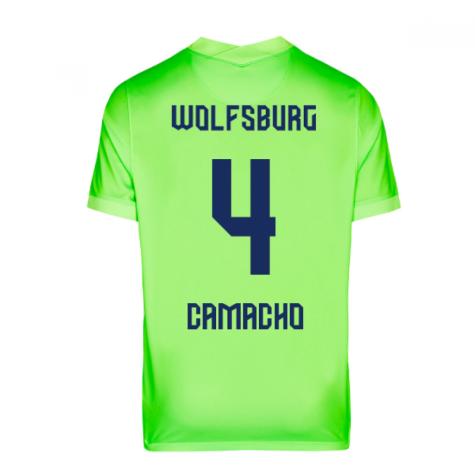 2020-2021 VFL Wolfsburg Home Nike Football Shirt (CAMACHO 4)
