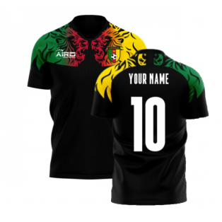 Cameroon 2020-2021 Third Concept Football Kit (Airo) (Your Name)