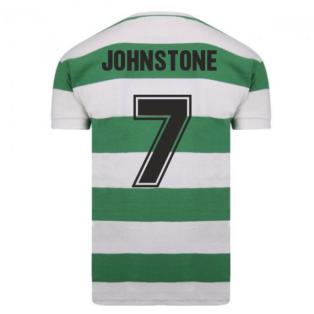 Celtic 1967 European Cup Winners Retro Shirt (JOHNSTONE 7)