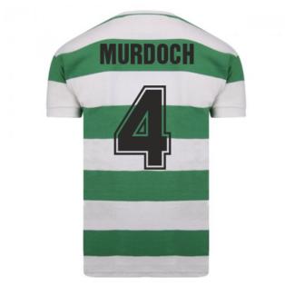 Celtic 1967 European Cup Winners Retro Shirt (Murdoch 4)