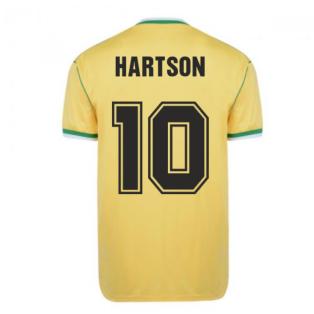 Celtic 1988 Centenary Away Retro Football Shirt (HARTSON 10)