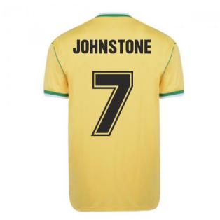 Celtic 1988 Centenary Away Retro Football Shirt (JOHNSTONE 7)