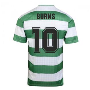 Celtic 1988 Centenary Retro Football Shirt (BURNS 10)
