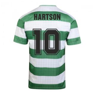 Celtic 1988 Centenary Retro Football Shirt (HARTSON 10)