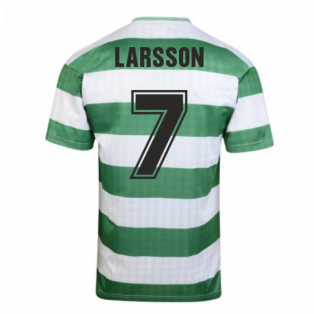 Celtic 1988 Centenary Retro Football Shirt (LARSSON 7)