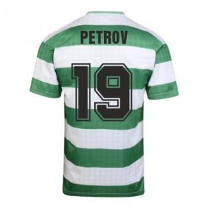 Celtic 1988 Centenary Retro Football Shirt (PETROV 19)
