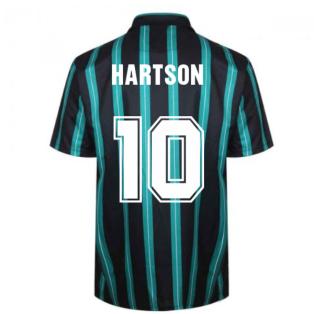 Celtic 1994 Away Retro Football Shirt (HARTSON 10)