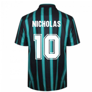 Celtic 1994 Away Retro Football Shirt (Nicholas 10)