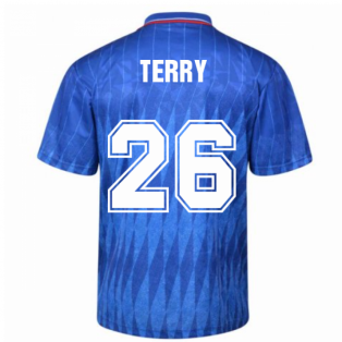 Chelsea 1990 Retro Football Shirt (TERRY 26)