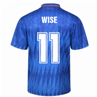 Chelsea 1990 Retro Football Shirt (Wise 11)