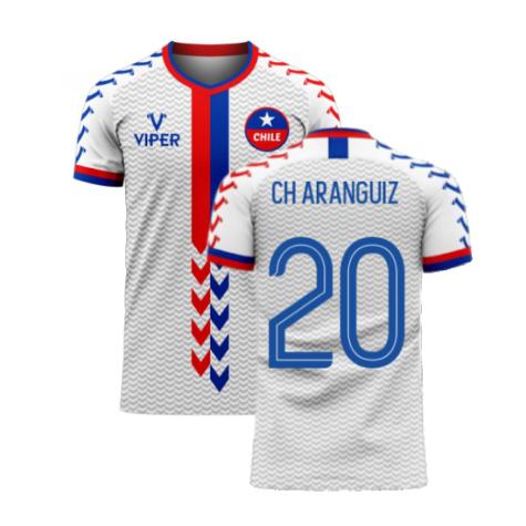 Chile 2020-2021 Away Concept Football Kit (Viper) (CH ARANGUIZ 20)