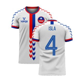 Chile 2020-2021 Away Concept Football Kit (Viper) (ISLA 4)