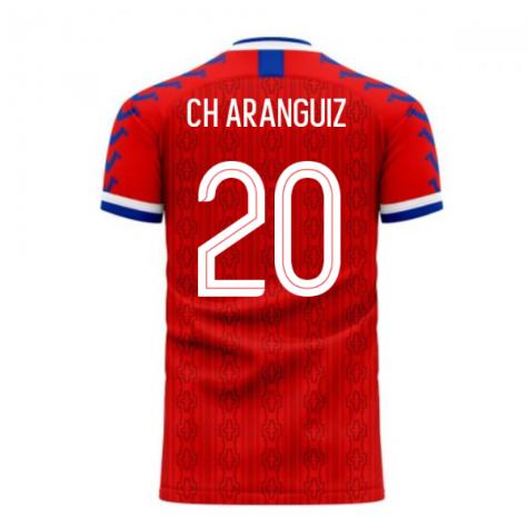 Chile 2020-2021 Home Concept Football Kit (Viper) (CH ARANGUIZ 20)