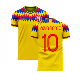 Colombia 2020-2021 Home Concept Football Kit (Libero) (Your Name)