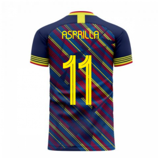 Colombia 2020-2021 Third Concept Football Kit (Libero) (ASPRILLA 11)