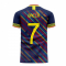 Colombia 2020-2021 Third Concept Football Kit (Libero) (BACCA 7)