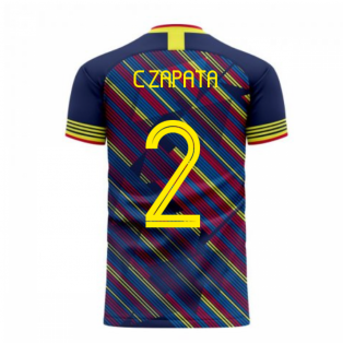 Colombia 2020-2021 Third Concept Football Kit (Libero) (C ZAPATA 2)