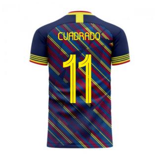 Colombia 2020-2021 Third Concept Football Kit (Libero) (CUADRADO 11)