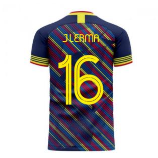 Colombia 2020-2021 Third Concept Football Kit (Libero) (J LERMA 16)