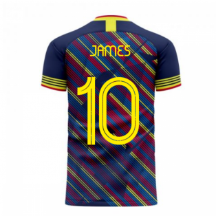Colombia 2020-2021 Third Concept Football Kit (Libero) (JAMES 10)
