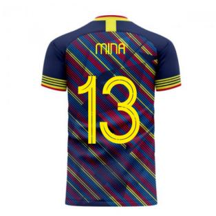 Colombia 2020-2021 Third Concept Football Kit (Libero) (MINA 13)