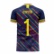Colombia 2020-2021 Third Concept Football Kit (Libero) (OSPINA 1)