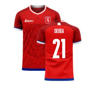 Czech Republic 2020-2021 Home Concept Kit (Libero) (SKODA 21)