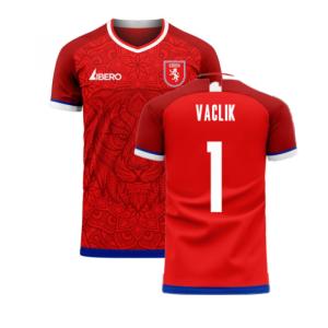 Czech Republic 2020-2021 Home Concept Kit (Libero) (VACLIK 1)