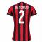 2017-2018 AC Milan Womens Home Shirt (De Sciglio 2)