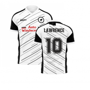 Derby 2020-2021 Home Concept Football Kit (Libero) (Lawrence 10)