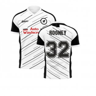 Derby 2020-2021 Home Concept Football Kit (Libero) (Rooney 32)