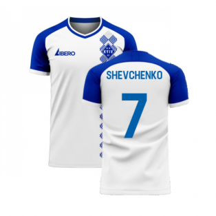 Dynamo Kyiv 2020-2021 Home Concept Football Kit (Libero) (SHEVCHENKO 7)