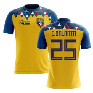 2018-2019 Colombia Concept Football Shirt (E.Balanta 25)