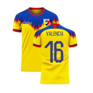 Ecuador 2020-2021 Home Concept Football Kit (Libero) (VALENCIA 16)