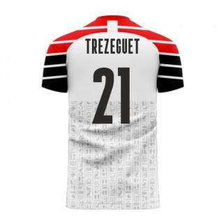 Egypt 2020-2021 Away Concept Football Kit (Libero) (TREZEGUET 21)
