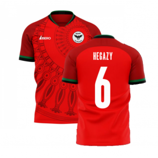 Egypt 2020-2021 Home Concept Football Kit (Libero) (HEGAZY 6)