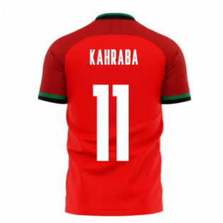 Egypt 2020-2021 Home Concept Football Kit (Libero) (KAHRABA 11)