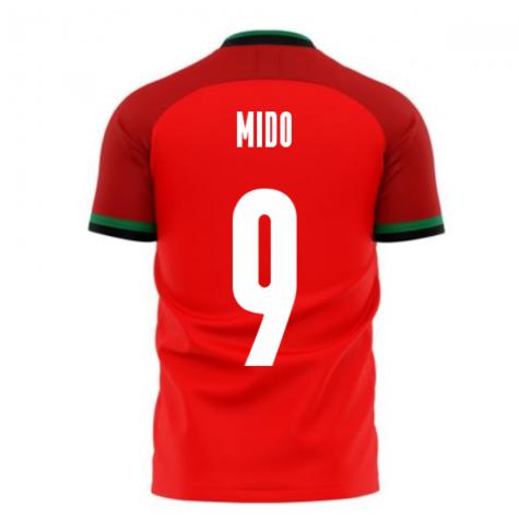 Egypt 2020-2021 Home Concept Football Kit (Libero) (MIDO 9)