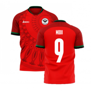 Egypt 2020-2021 Home Concept Football Kit (Libero) (MIDO 9)