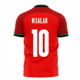 Egypt 2020-2021 Home Concept Football Kit (Libero) (M.SALAH 10)