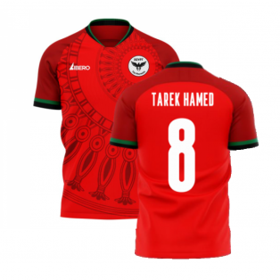 Egypt 2020-2021 Home Concept Football Kit (Libero) (TAREK HAMED 8)